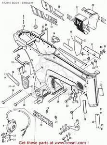 Honda St50 Dax Belgium Frame Body - Emblem - Buy Frame Body