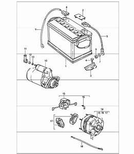 Porsche 928 Voltage Regulator Wiring Diagram