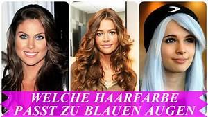 Welche Wandfarbe Passt Zu Nussbaum : welche haarfarbe passt zu blauen augen youtube ~ Watch28wear.com Haus und Dekorationen