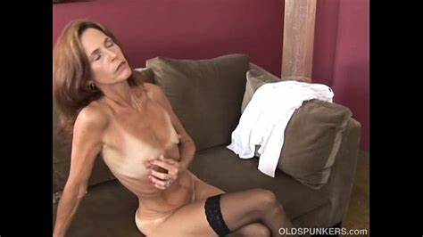 Saggy Tranny In Socks Spills Spunk Young Old Spunker In Superb Underwear Is Feeling Shy