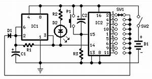 led circuit page 20 light laser led circuits nextgr With programmable unijunction transistor flasher