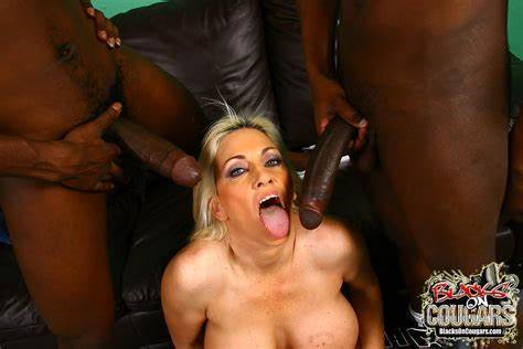 Wet Cougar Craves For A Bbc