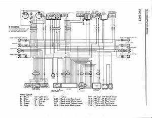 Wiring Diagram For The Dr350 S  1993 And Later Models