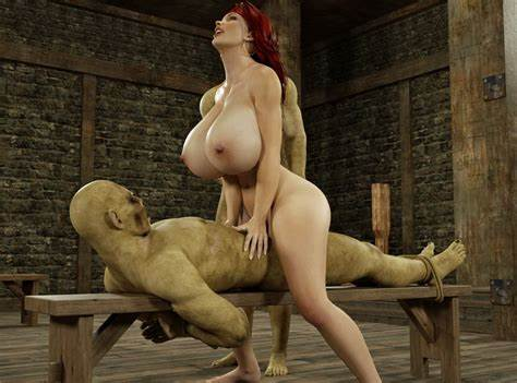 Brutal Drilled Spunk On Monster Titted