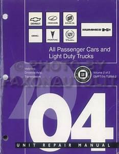 2004 Chevy Silverado Gmc Sierra And Denali Repair Shop