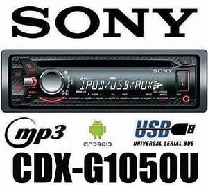 Diagram Sony Cdx G1050u