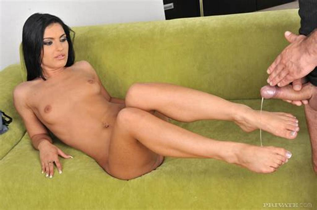 #Brunette #Honey #Demon #In #Blouse #And #Panties #Gets #Filled