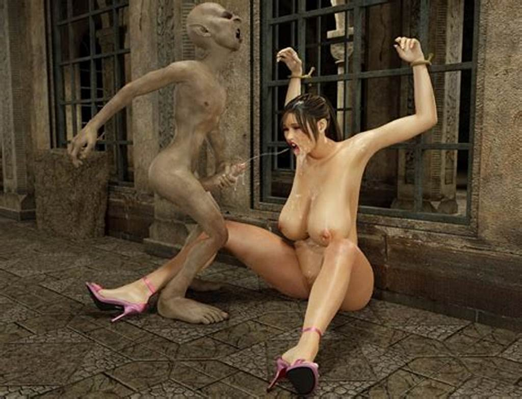 #Delicious #Kinky #Bimbo #Enjoys #Lustful #Sex #With #A #3D #Monster