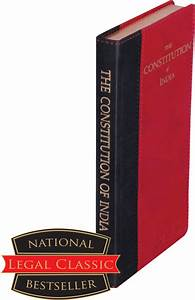 The Constitution Of India  Coat Pocket Edition