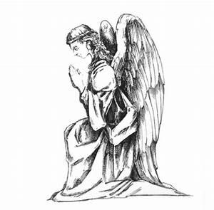 giant kneeling angel artwork | Barrango, MFG