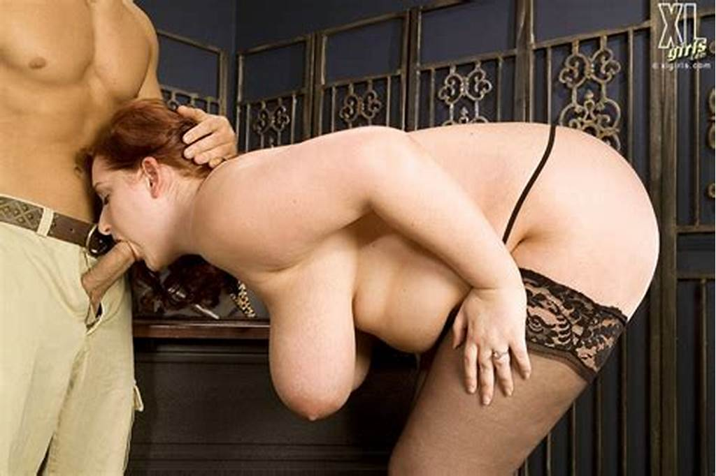 #Fat #Redhead #Reyna #Mae #In #Black #Nylons #Gets #Fucked #Doggy