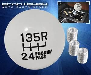For Toyota M8 M10 M12 Adapter Round Ball Shift Knob 6