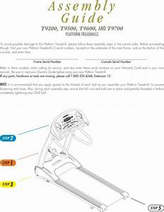 Vision Fitness T9500 Manual