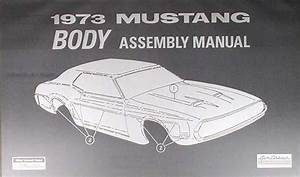 1973 Ford Mustang  U0026 Cougar Vacuum Schematic Manual Reprint