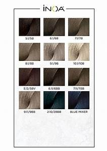 Loreal Hair Color Color Chart Inoa Swatches Brown Hair Colors Light Brown Hair Hair