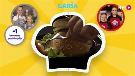 Mācies pagatavot burgerus! - Skaties - LSM Bērnistaba