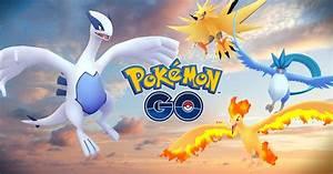 Pokemon GO Gets Legendary Birds Lugia & Articuno, More on ...