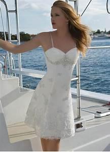 25 short beach wedding dresses for Short white beach wedding dresses