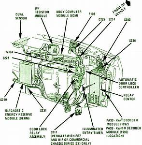 1993 Cadillac Deville Fuse Box Diagram  U2013 Auto Fuse Box Diagram