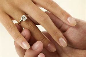 black diamond engagement ring on hand ring diamantbilds With wedding ring hand