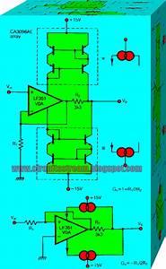 Constant Bandwidth Amplifier Circuit Diagram
