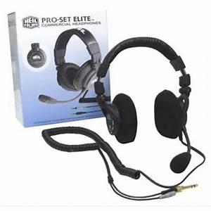 Headset Mic For Icom Amateur Radio Pro Set Elite Ic