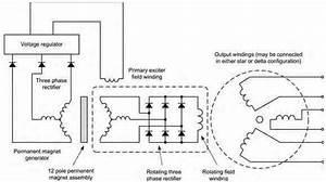 3 Phase Brushless Generator Wiring Diagram
