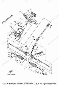 Yamaha Side By Side 2014 Oem Parts Diagram For Steering