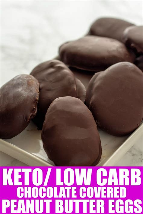 These sugar free treats are low carb desserts perfect for thm s dessert selection. Sugar Free Chocolate Peanut Butter Eggs are quite easy to make, and if you are wanting to have ...