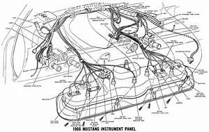 Lelu U0026 39 S 66 Mustang  1966 Mustang Wiring Diagrams
