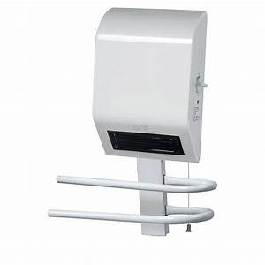 Radiateur Electrique Salle De Bain Mural : radiateur soufflant salle de bain bh 1600gk 1600w leroy ~ Edinachiropracticcenter.com Idées de Décoration
