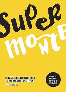 A Poster Of The Super Monte Project Developed For The