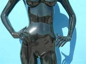 2783 Manichino Stilizzato Donna Testa Uovo Laccato Lucido