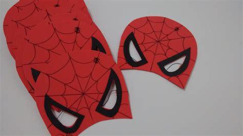 Máscara Homem Aranha media Baú da Imaginação Elo7