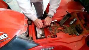 Atv Battery Installation
