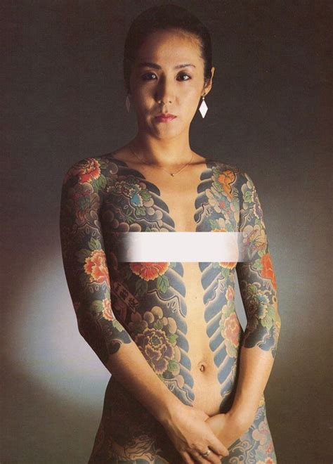 foto de Japanese Gangster Women Of The Yakuza Jolies blondes
