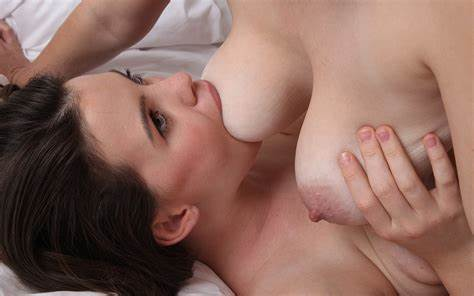 Stunningly Lactating Biggest Nipple Moms Titted Licking Rammed Bare
