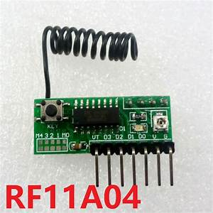 Aliexpress Com   Buy Rf11a04 3 5v 433mhz 4ch Decode Module