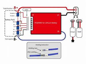 Bms Battery Management System 12v 100a