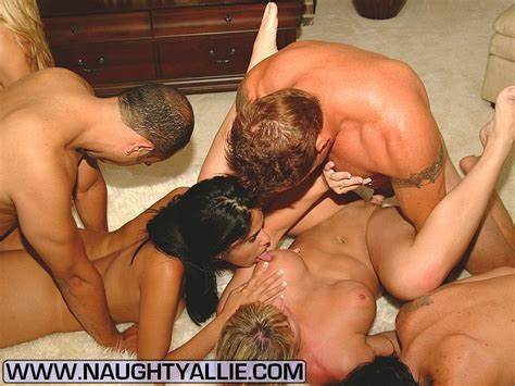 Orgy Swinging Each Swinger Rammed