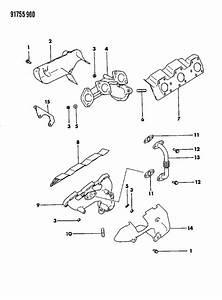 Dodge Grand Caravan Nut  Catalytic Convertor  Inject  Ohd