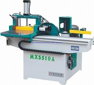 Mx3510a Comb Tenon Mortising Machine  Manual  Precision Guide