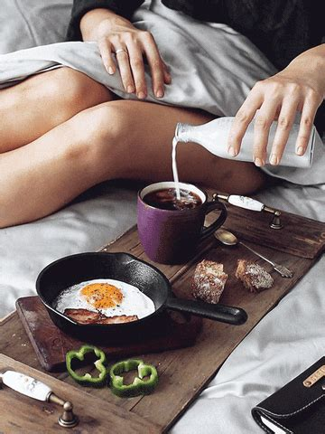 The perfect coffee goodmorning animated gif for your conversation. Breakfast In Bed GIFs - Find & Share on GIPHY