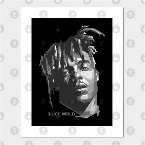 Black and white drawing project. Juice WRLD black and white - Juice Wrld Lucid Dreams ...