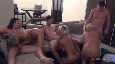 Hot Old Orgy And Their Explosive Porn Session