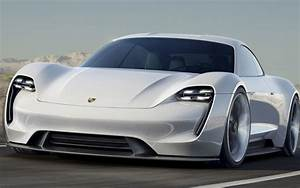 Porsche and Audi unveil electric cars to take on Tesla ...