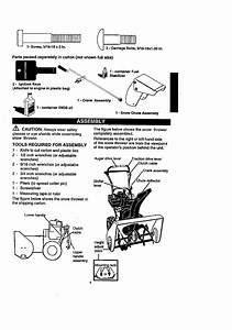 Craftsman 536886190 User Manual 8 5 Hp 26 Dual Stage 120v