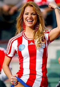 Paraguay, Beauties, Celebrate, Copa, America, 2011, Photos