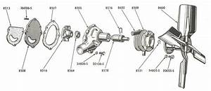 Water Pump Parts For Ford Jubilee  U0026 Naa Tractors  1953