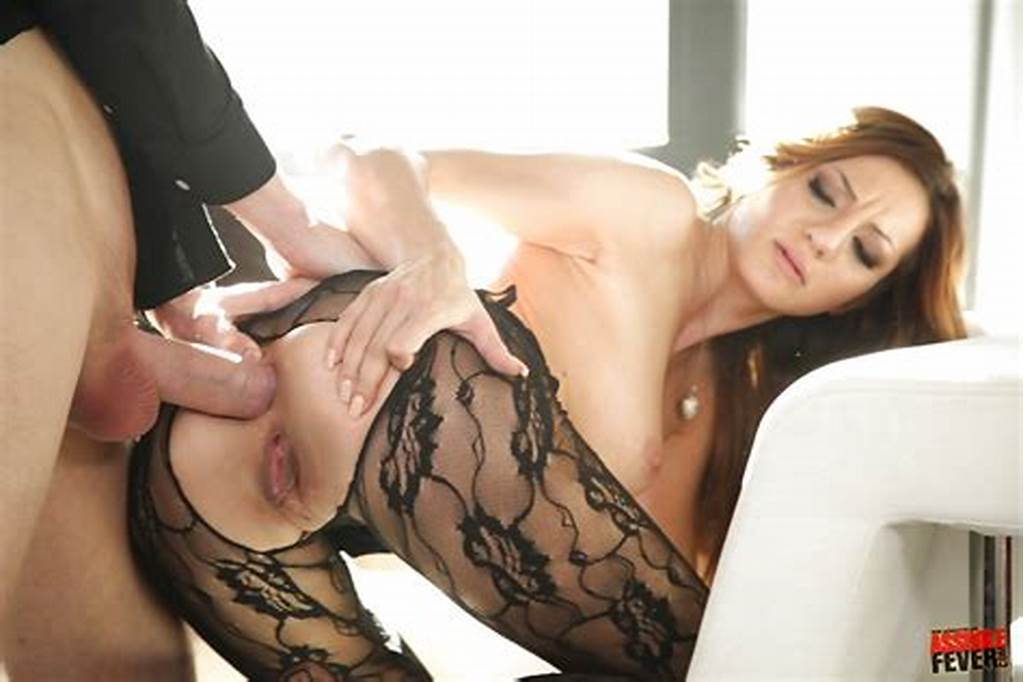 #Orny #Gal #In #Pantyhose #Alice #Romain #Gets #Her #Asshole #Cocked